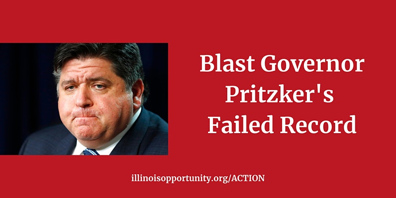 EVENT: Knock Doors to Blast Governor Pritzker's Failed Record